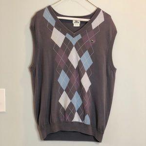 As seen on Entourage!! Lacoste Sweater Vest